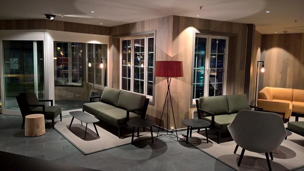 Hotell Voringfoss Varmegulv gir hytteluksus